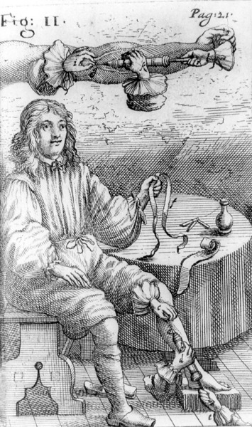 "from ""clysmatica nova"" by johan s. elsholtz (1623-1688)"
