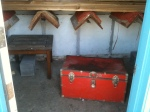 2 saddle holders trunk